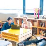 感情に寄り添って変化するオフィス、そこで生まれる緩やかなコミュニティ ― Empath下地 貴明さん、山崎 はずむさん