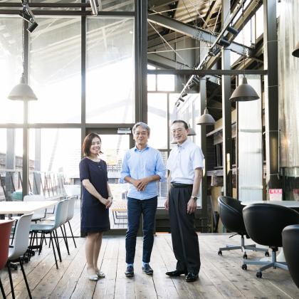 学生とつくる新たなオフィス ─ 老舗BtoBメーカーがはじめた、ボトムアップの「働く場所改革」