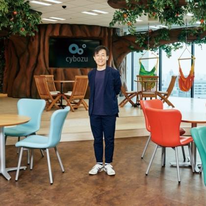 働き方は自ら変えるものだということを、 一人ひとりが自覚すべき ー 青野慶久さん